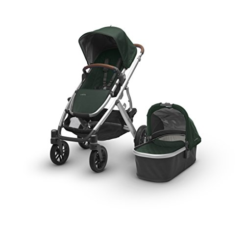 2017 UPPAbaby Vista – Austin (Hunter Green/Silver/Saddle Leather)