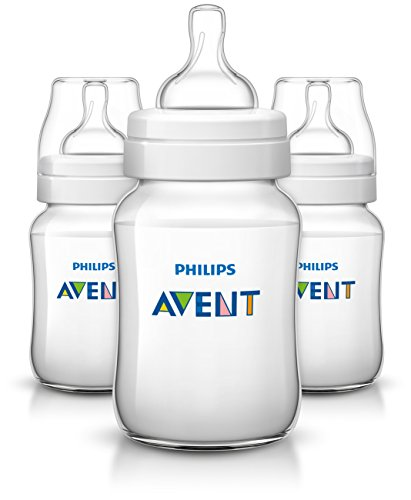 Philips Avent Anti-colic  Baby Bottles Clear, 9 Ounce (3 Count)