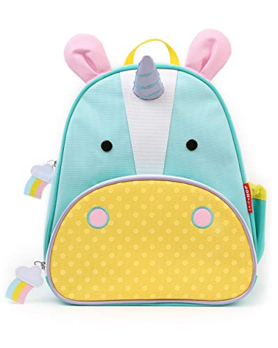 Skip Hop Toddler Backpack, 12″ Unicorn School Bag, Multi