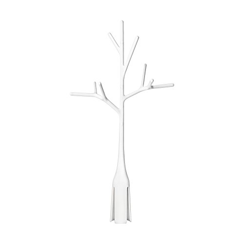 Boon Twig Grass and Lawn Drying Rack Accessory, White,Twig White