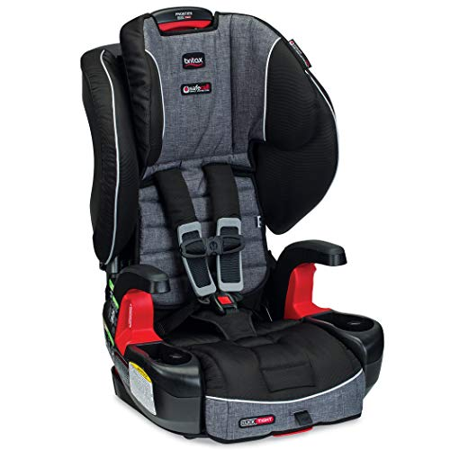 Britax Frontier ClickTight Harness-2-Booster Car Seat – 2 Layer Impact Protection – 25 to 120 Pounds, Vibe