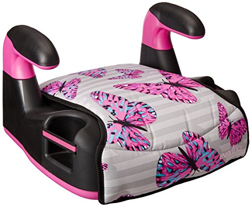 Evenflo AMP Select Car Booster Seat, Butterfly