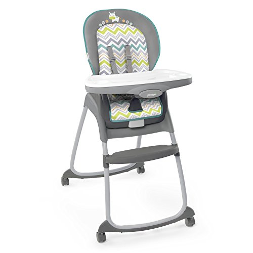 Ingenuity Trio 3-in-1 High Chair – Ridgedale – High Chair, Toddler Chair, and Booster