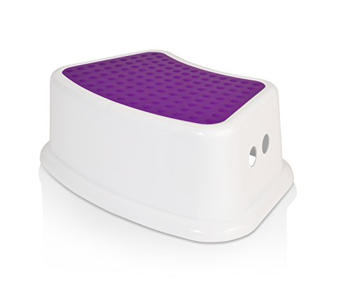 Kids Best Friend Purple Step Stool, Take It Along In Bedroom, Kitchen, Bathroom And Living Room Toy Room, Great For Potty Training