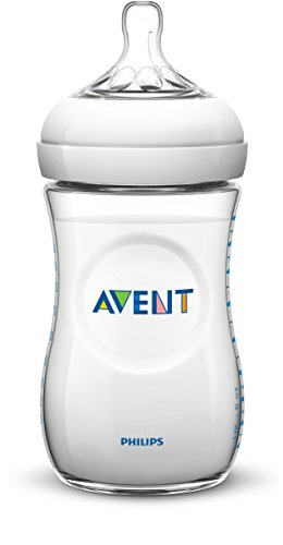 Philips Avent BPA Free Natural Polypropylene Bottle, 11 Ounce, 3-Count