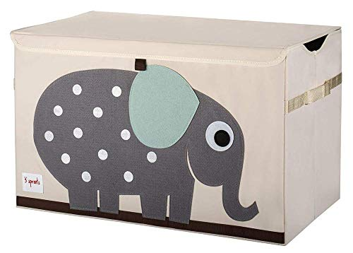 3 Sprouts Kids Toy Chest – Storage Trunk for Boys and Girls Room