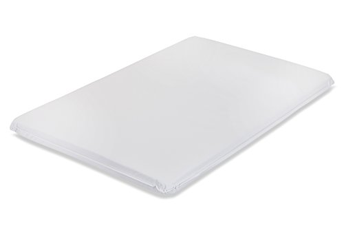 LA Baby Waterproof Portable/Mini Crib Mattress, 2″ – Made in USA with Easy to Clean, Hypo-Allergenic, Anti-Microbial & Non-Toxic Cover, 24 x 38 – Made in USA