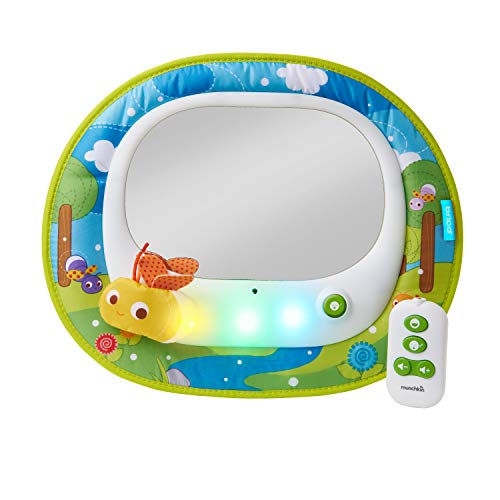 Munchkin Brica Firefly Baby in-Sight Car Mirror, Crash Tested and Shatter Resistant