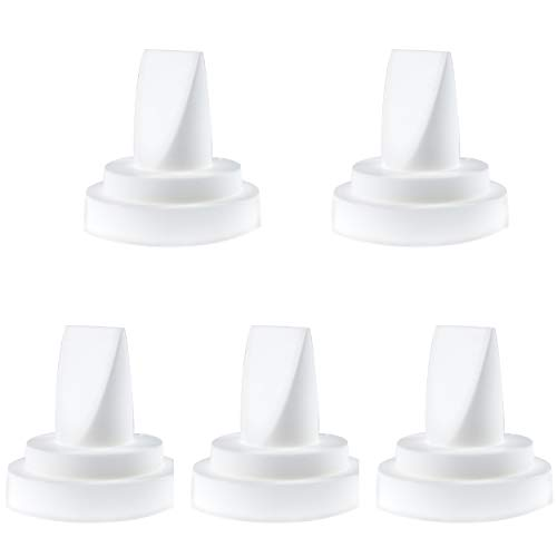 Nenesupply 5 pc Compatible Duckbill Valves for Spectra S1 Spectra S2 and Medela Pump in Style Not Original Spectra S2 Accessories Replaces Spectra Duckbill Valve and Duckbill Valve Medela