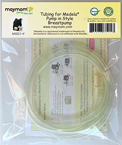 Maymom Tubing for Medela Pump in Style Advanced Breast Pump Release After Jul 2006. In Retail Pack. Replace Medela Tubing #8007212, 8007156 & 87212. BPA Free. Not Orig. Medela Parts,Medela Accessory