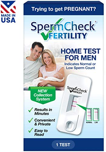 SpermCheck Fertility Home Test Kit   Indicates Normal Or Low Sperm Count