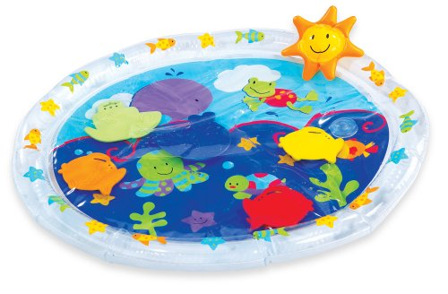 Earlyears Fill 'N Fun Water Play Mat – Encourage Tummy Time with 6 Fun Floating Sea Friends to Discover