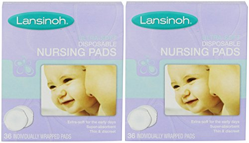 LAN20250EA – Disposable Nursing Pad, Ultra Soft (2 pack of 36 Count)