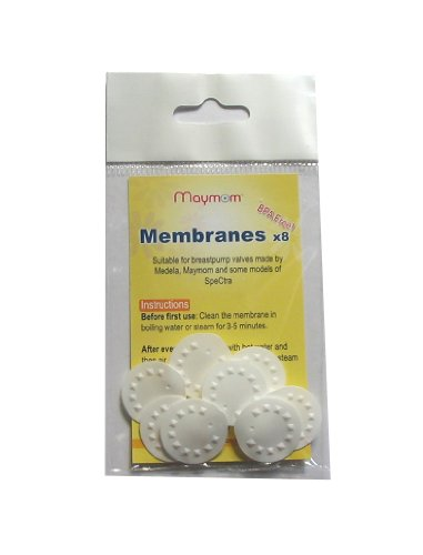 Maymom Replacement Membranes for Medela Medela Pump in Style Breastpump, Lactina, Swing and Symphony Pumps, 8-Pack