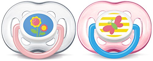 Philips Avent Freeflow Pacifier, 18+ months, Pink, SCF186/28