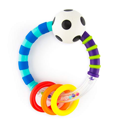 Sassy Ring Rattle     Developmental Baby Toy for Early Learning     High Contrast     For Ages Newborn and Up