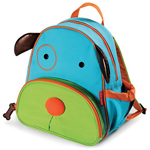 Skip Hop Toddler Backpack, 12″ Dog School Bag, Multi
