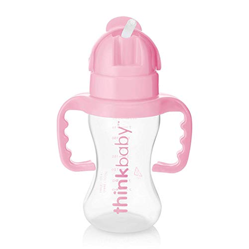 Thinkbaby Thinkster Bottle, Pink (9 ounce)