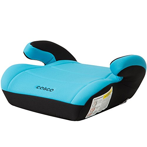 Cosco Topside Booster Car Seat – Easy to Move, Lightweight Design (Turquoise)