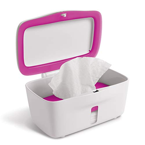 OXO Tot Perfect Pull Wipes Dispenser, Pink