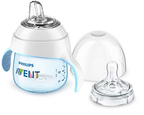 Philips Avent My Natural Trainer Cup, Blue, 5 Ounce, Stage 1