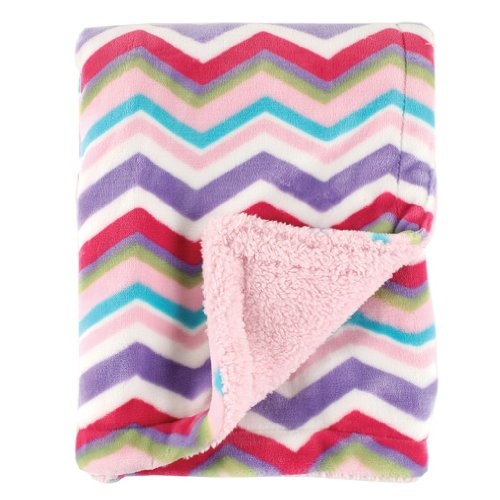 Hudson Baby Double Layer Blanket, Pink, One Size